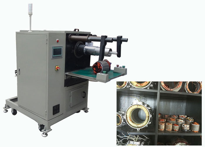 Automatic Stator Winding Inserting Machine for Stator Coil Windings AC / DC  SMT-QX10