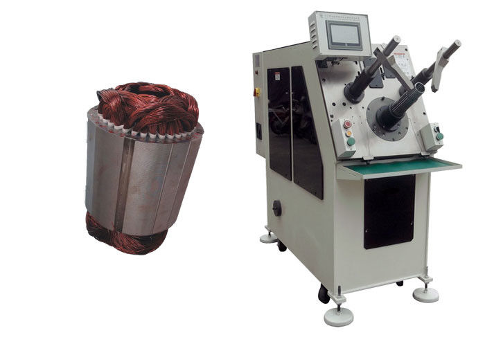 Automatic Stator Coil Winding Machine With Copper / Aluminum Wire